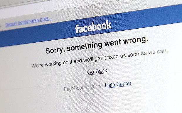 facebook çöktü