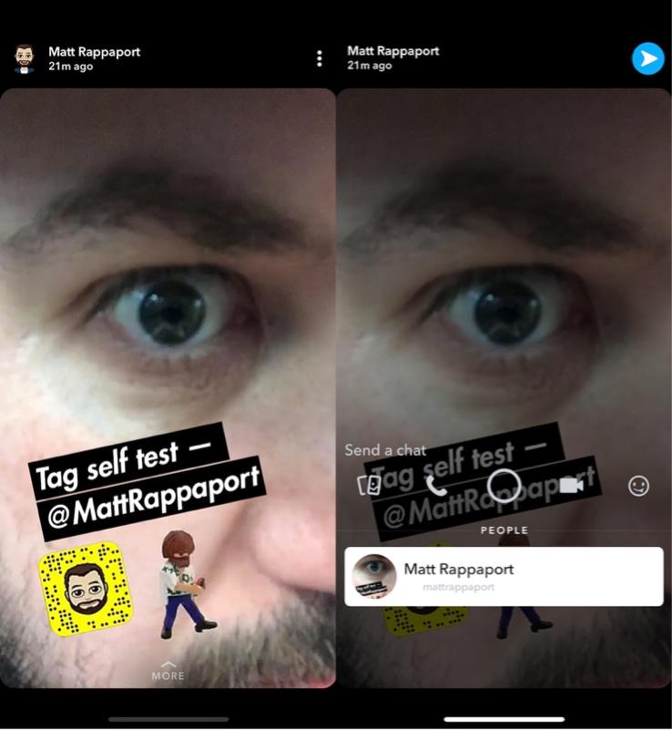 snapchat güncellemesi