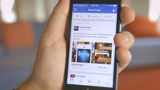 Facebook uygulama