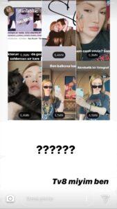 Danla bilic instagram hikaye