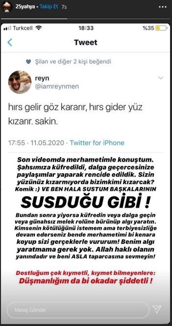 Reynmen Yusuf Aktaş Yahya Altunkaynak