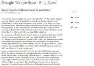 google türkiye alışveriş reklamları