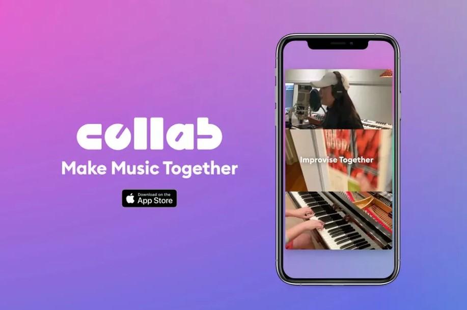Telefondan müzik yapma uygulaması Facebook Collab
