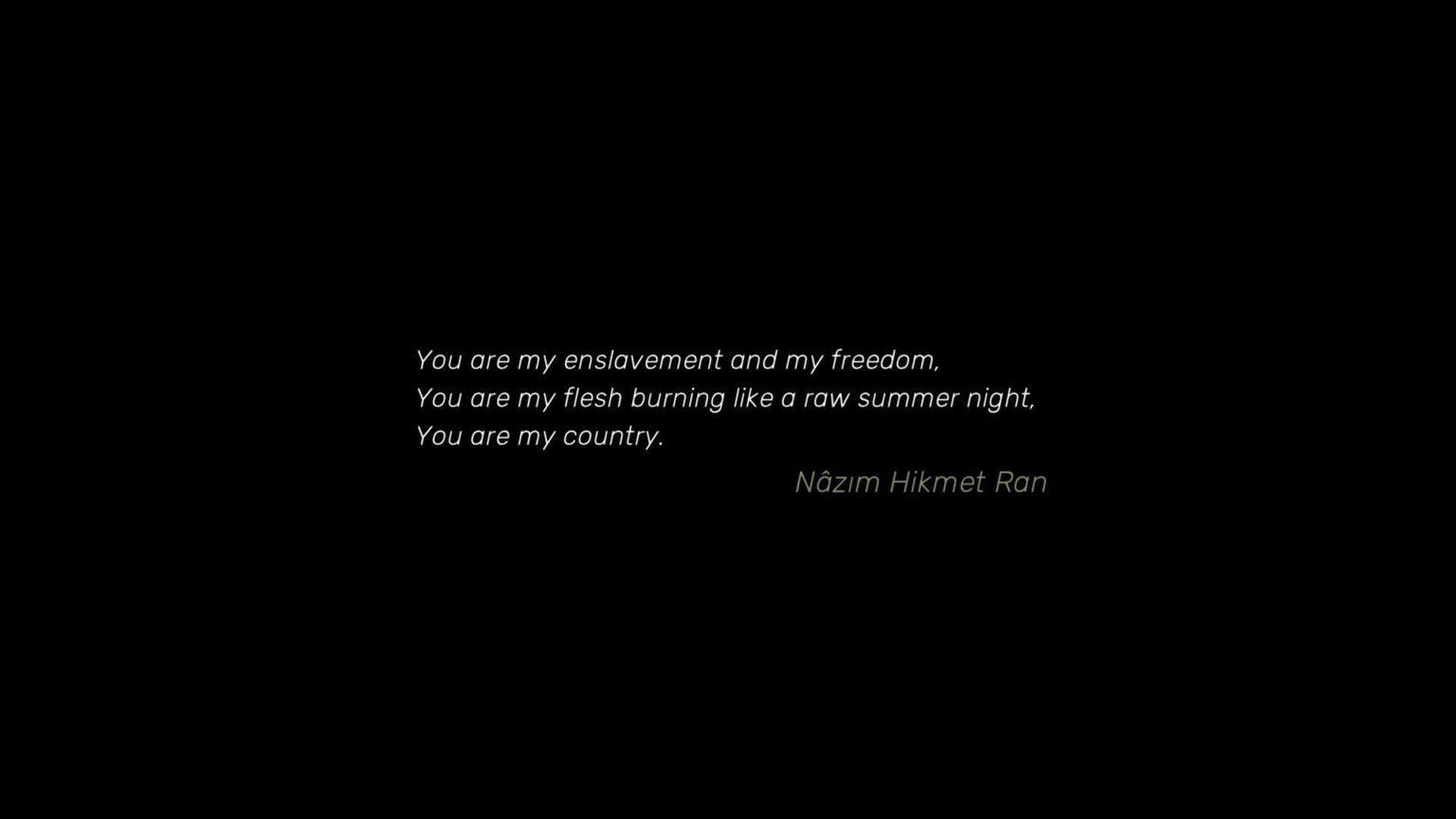 nazım hikmet şiiri twitter
