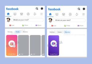 Facebook reels rooms